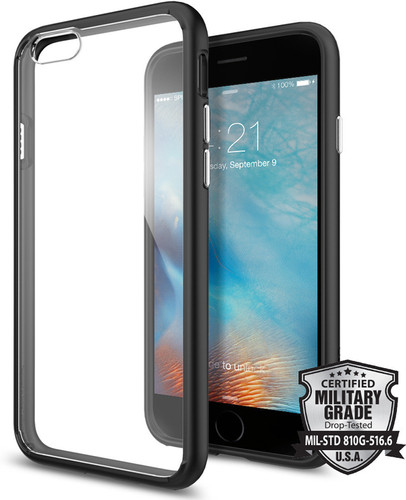 Spigen Ultra Hybrid Apple iPhone 6/6s Zwart Main Image