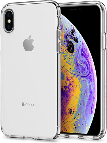 Spigen Liquid Crystal Apple iPhone X Back Cover Transparent Main Image