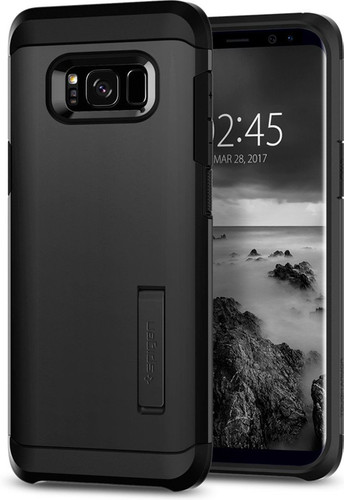 Spigen Tough Armor Samsung Galaxy S8 Back Cover Black Main Image