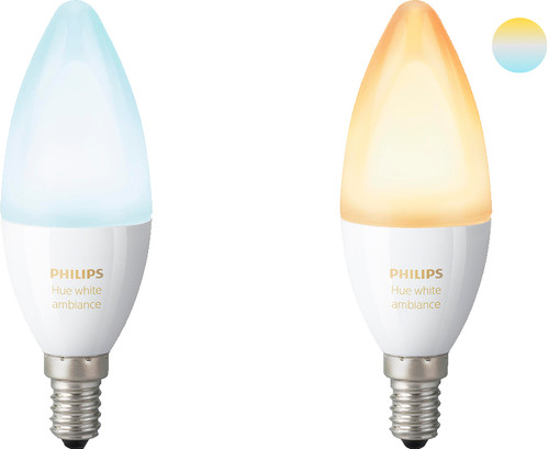 Philips Hue White Ambiance E14 Duopack Main Image