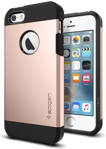 Spigen Tough Armor Apple iPhone 5/5S/SE Rose Gold Main Image