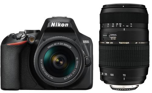 Nikon D3500 + AF-P DX 18-55mm G VR + Tamron AF-D 70-300mm Di LD Main Image