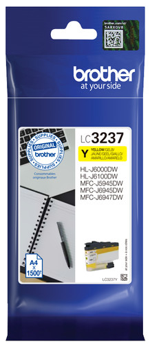 Brother LC-3237Y Cartridge Yellow Main Image