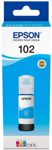 Epson 102 EcoTank Ink Bottle Cyan Main Image