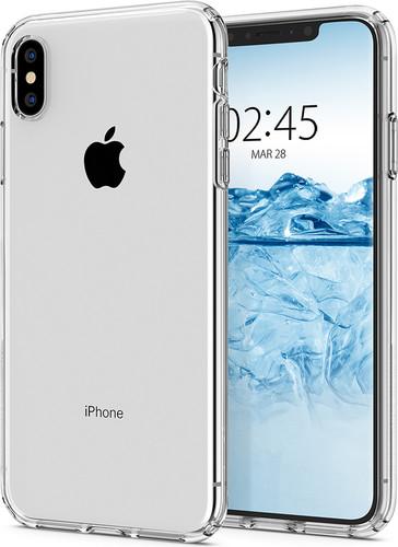 Spigen Liquid Crystal iPhone Xs Max Back Cover Transparent Main Image