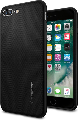 Spigen Liquid Armor Air Apple iPhone 7 Plus/8 Plus Zwart Main Image