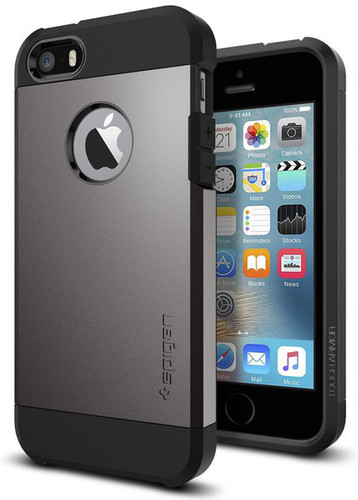 Spigen Tough Armor Apple iPhone 5/5S/SE Dark Gray Main Image