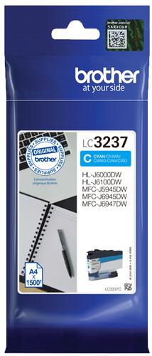 Brother LC-3237C Cartridge Cyan Main Image