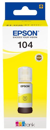 Epson 104 EcoTank Inktfles Geel Main Image