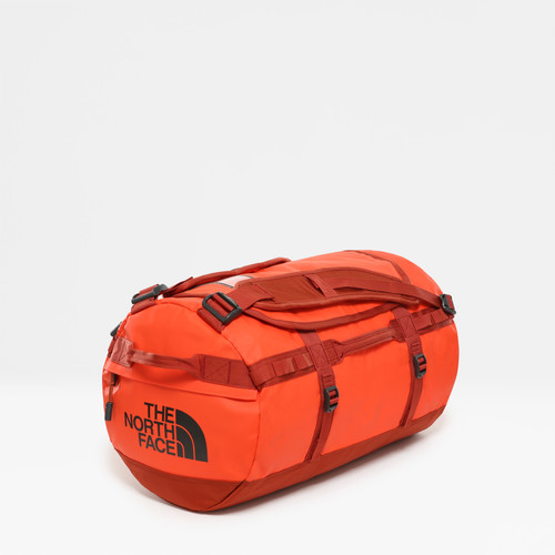 The North Face Base Camp Duffel S Acrylc Orange/Picante Red Main Image