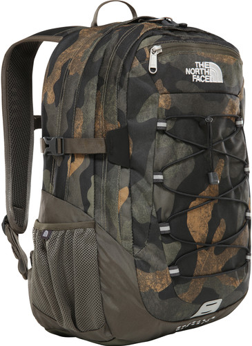 The North Face Borealis Classic Burnt Olive Green Waxed Camo Print/Burnt Olive Green Main Image