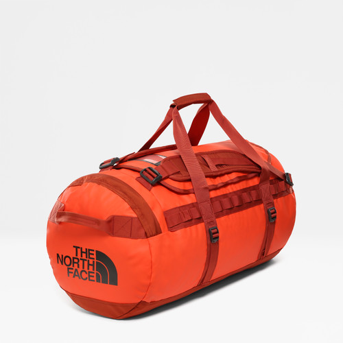 The North Face Base Camp Duffel M Acrylc Orange / Picante Red Main Image