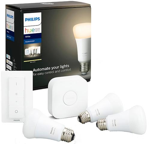 Philips Hue White Starter Pack E27 Main Image
