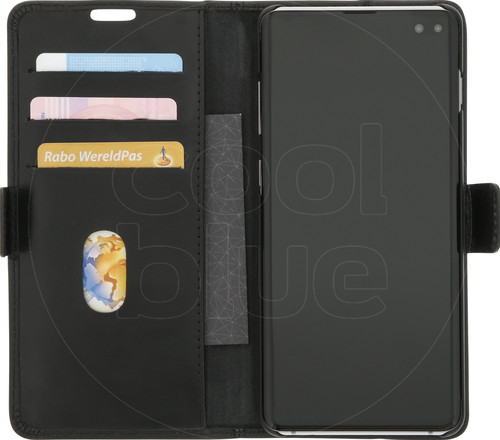 DBramante1928 Copenhagen Samsung Galaxy S10 Plus Book Case Black Main Image