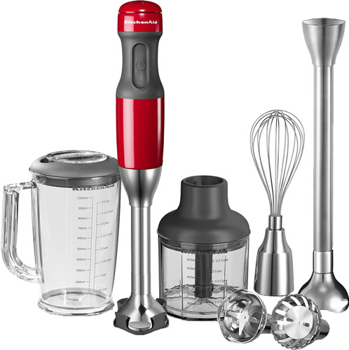 KitchenAid Staafmixerset Keizerrood Main Image