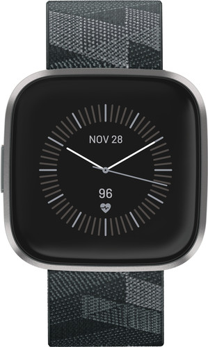 Fitbit Versa 2 Speciale Editie Donkergrijs Main Image