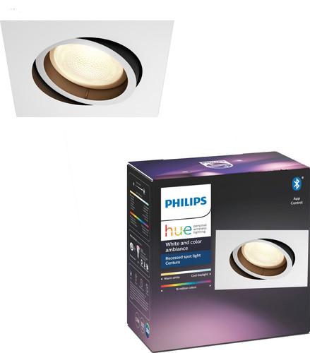 Philips Hue Centura inbouwspot White & Colour vierkant wit Main Image