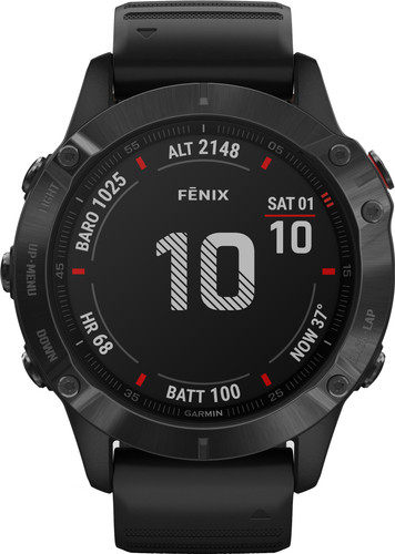 Garmin Fenix 6X Pro - Black - 51mm Main Image