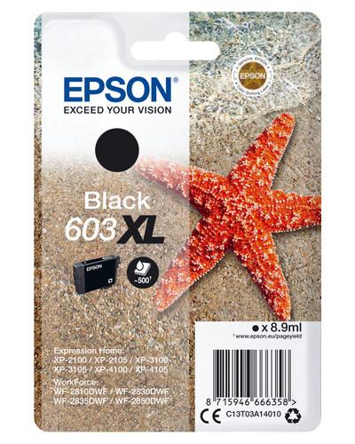 Epson 603XL Cartridge Black XL Main Image