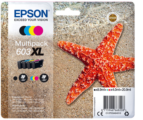 Epson 4-Colors 603XL Main Image