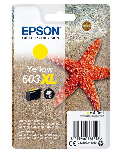 Epson 603XL Cartridge Yellow XL Main Image
