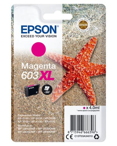 Epson 603XL Cartridge Magenta XL Main Image