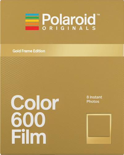 Polaroid Originals Instant Photo Paper Color Film 600 Gold Main Image