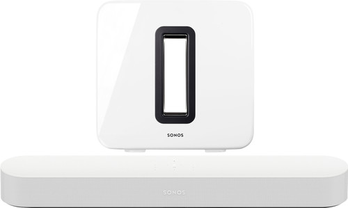 Sonos Beam 3.1 + Sub White Main Image