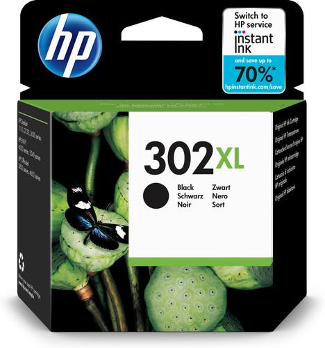 HP 302 Cartridge Black XL (F6U68AE) Main Image