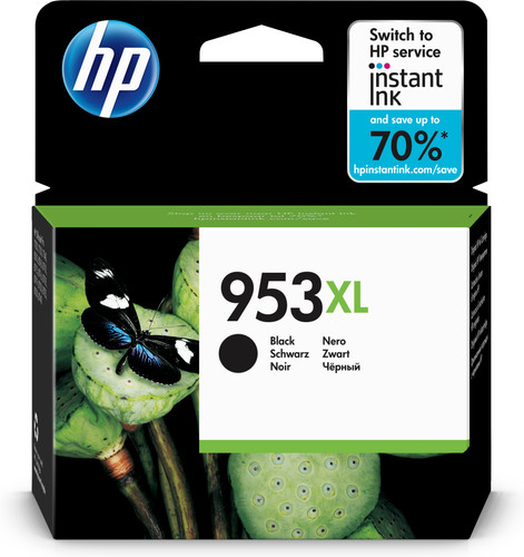 HP 953XL Cartridge Zwart Main Image