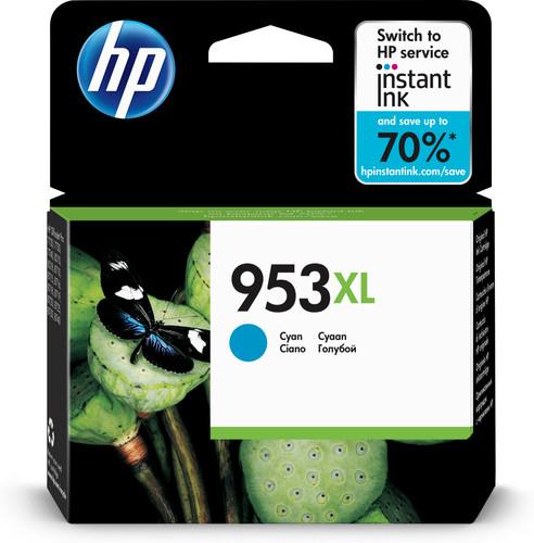 HP 953XL Cartridge Cyan (F6U16AE) Main Image