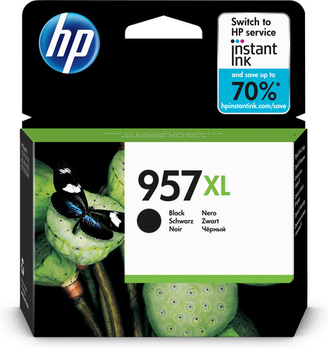 HP 957XL Cartridge Black Main Image