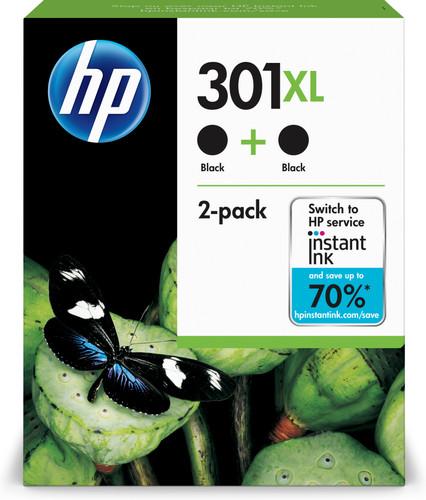 HP 301XL Black Twin Pack (D8J45AE) Main Image