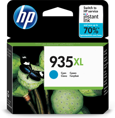 HP 935XL Cartridge Cyaan (C2P24AE) Main Image