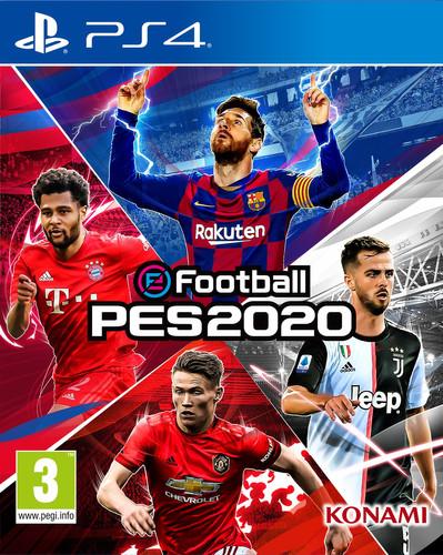 PES 2020 PS4 Main Image