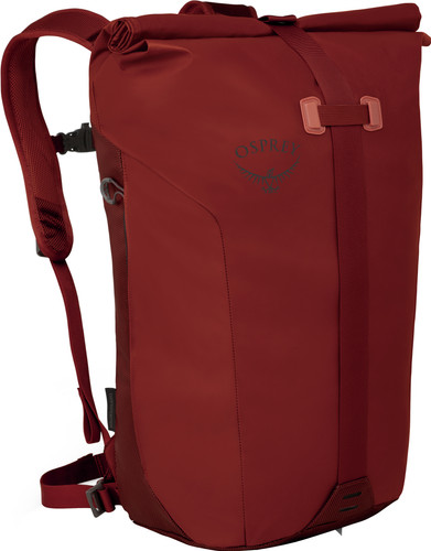 Osprey Transporter Roll Ruffian Red Main Image