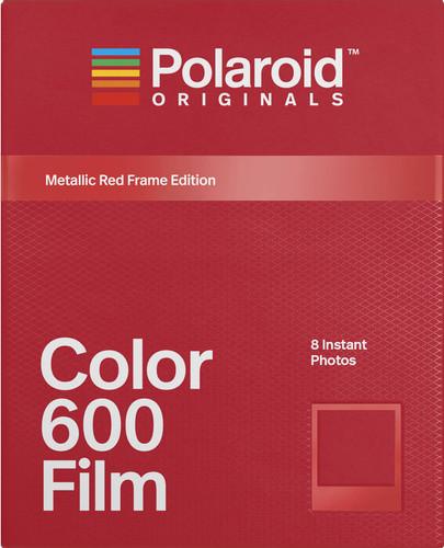 Polaroid Originals Instant Photo Paper Color Film 600 Metallic Red / Gold Main Image