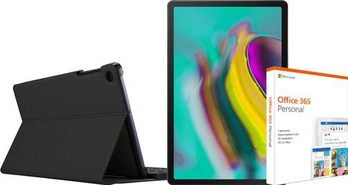 Starter Pack - Samsung Galaxy Tab S5e WiFi 64GB Black Main Image