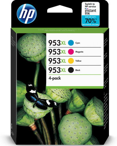 HP 953XL Combo Pack 4-Color (3HZ52AE) Main Image