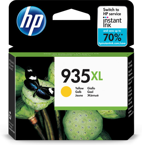 HP 935XL Cartridge Yellow (C2P26AE) Main Image