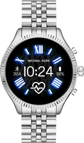 Michael Kors Access Lexington Gen 5 MKT5077 - Zilver Main Image