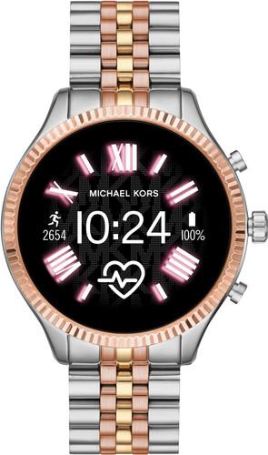 Michael Kors Access Lexington Gen 5 MKT5080 - Zilver/Rosé goud Main Image