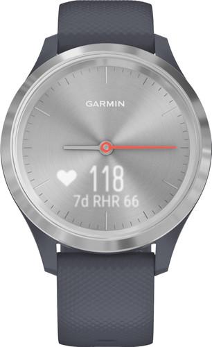Garmin Vivomove 3S Sport - Silver/Dark Blue - 39mm Main Image