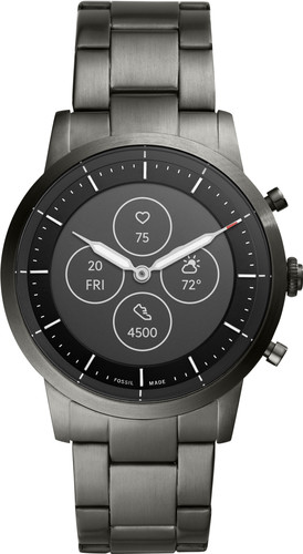 Fossil Collider Hybrid HR Smartwatch FTW7009 Gray Main Image