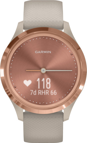 Garmin Vivomove 3S Sport - Rose Gold/Beige - 39mm Main Image