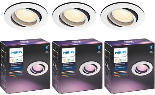 Philips Hue Centura Inbouwspot White & Colour rond wit 3-Pack Main Image
