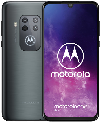 Motorola One Zoom Grijs Main Image