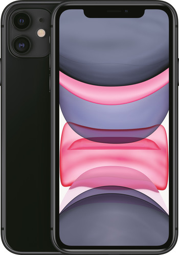 Apple iPhone 11 256 GB Zwart Main Image