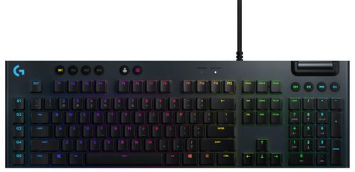 Logitech G815 Lightsync RGB Mechanical Gaming Keyboard GL Tactile QWERTY Main Image