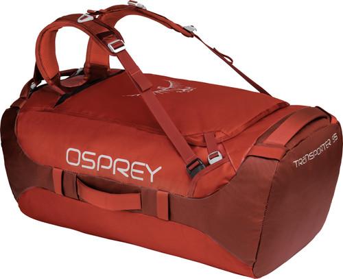 Osprey Transporter 95L Ruffian Red Main Image